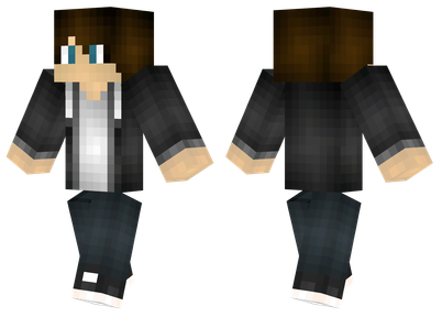Black jacket minecraft skins black jacket sciox Images