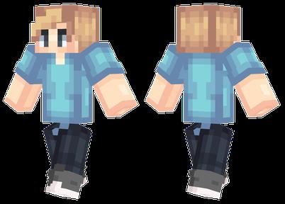 Blue Shirt | Minecraft Skins
