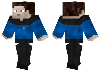 Blue Star Trek Uniform