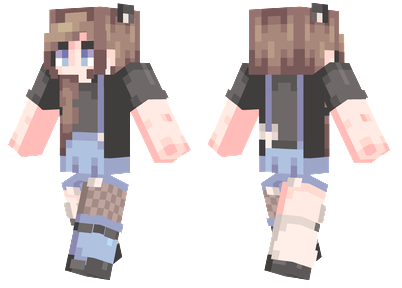 Brown Hair | Minecraft Skins