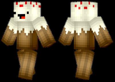 cake minecraft skins