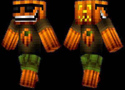 Cool Pumpkin Minecraft Skins