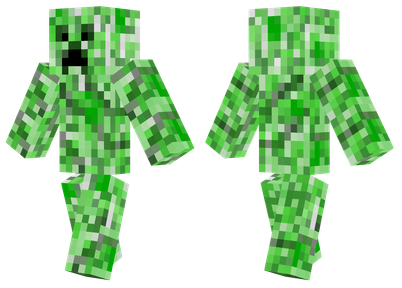 Creeper Minecraft Skins - Skins fur minecraft creeper
