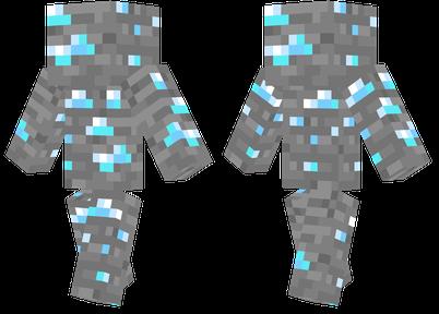 minecraft how to make a giant diamond ore