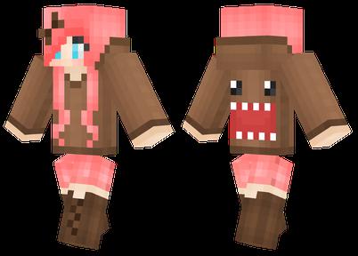 Domo Girl Minecraft Skins