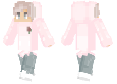 Faded Pink Minecraft Skins