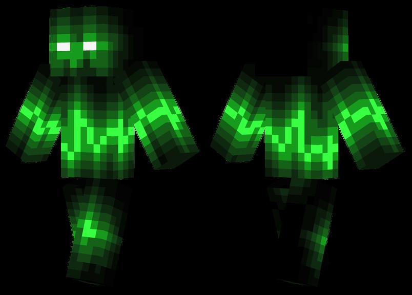 Green Wave Minecraft Skins - Coole skins fur minecraft pe