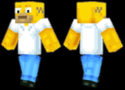 Homer Simpson   Minecraft Skins