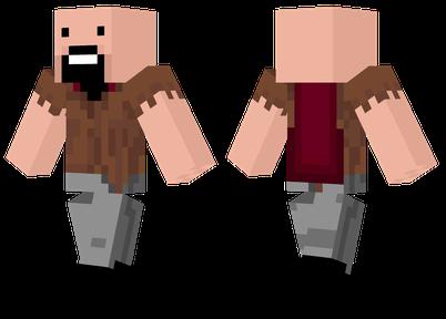 Notch Minecraft Skin