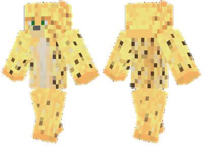 Minecraft Ocelot Girl Skin