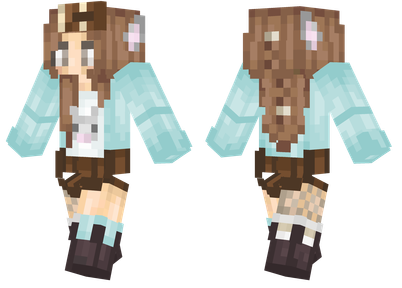 Pastel Kitty Minecraft Skins - Skins para minecraft pe cat