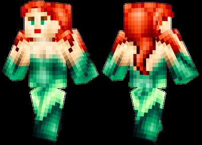 Poison Ivy Minecraft Skins - Skins para minecraft pe joker