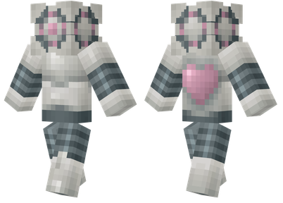portal companion droid minecraft skins