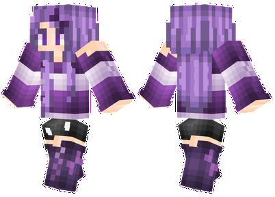 Purple Girl | Minecraft Skins