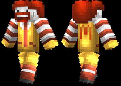 Minecraft Fast Food Skin