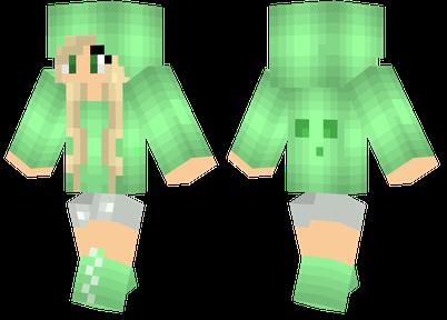 Chunk slime minecraft girl