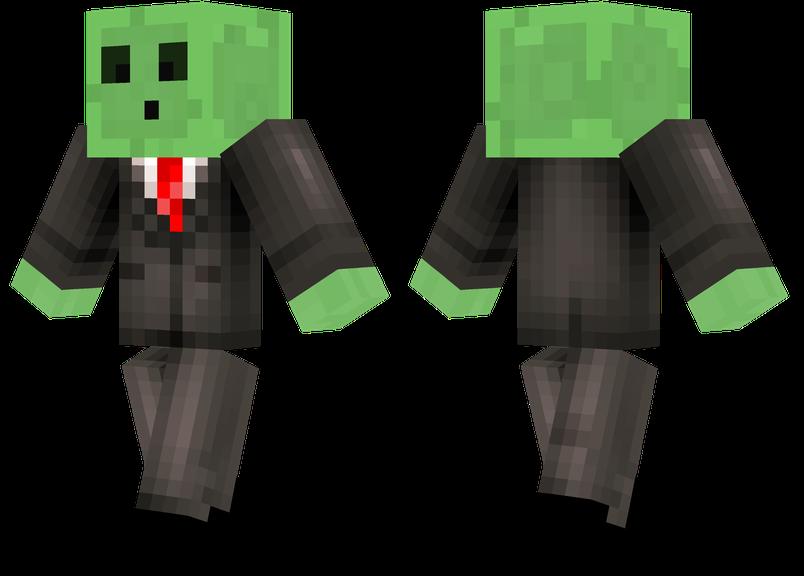 Slime Suit Minecraft Skins - Skin para minecraft pe zombie