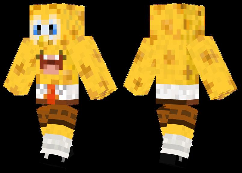 spongebob minecraft pe
