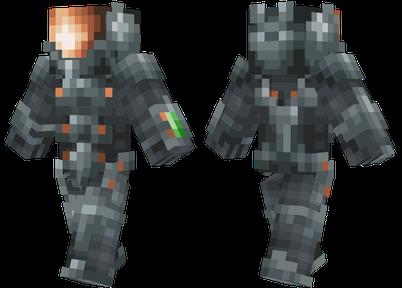 parkour minecraft skin