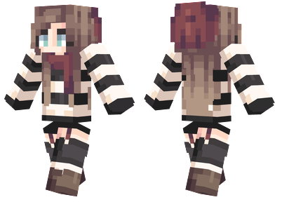 Girl Cat Sweater Site Minecraftskins Com