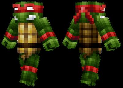 Teenage Mutant Ninja Turtles IN MINECRAFT [Minecraft ...