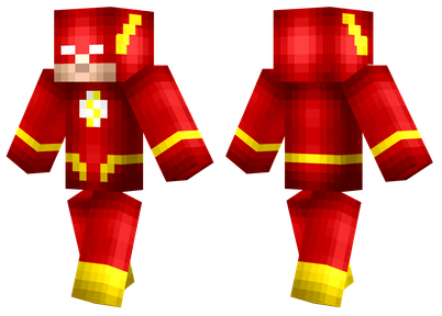 The Flash Minecraft Skins - Skin para minecraft pe para descargar