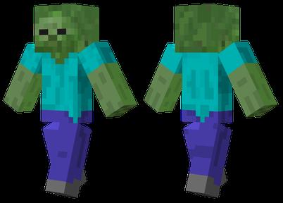 Zombie Minecraft Skins - Skins fur minecraft installieren