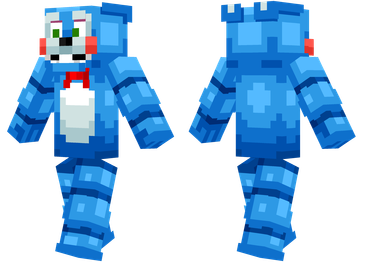 Freddy Fazbear Minecraft Skins - Skins para minecraft pe five nights at freddys